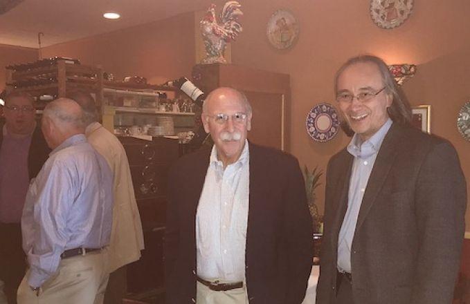Dr. Pasternak and Dr. Blenis
