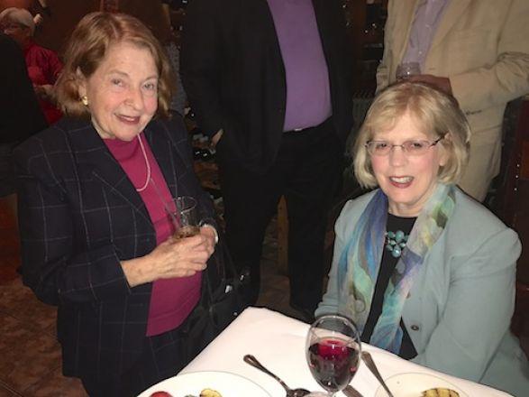 Dr. Rifkind and Barbara Inturrisi
