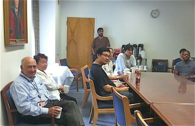Dr. Inturrisi, Dr. Okamoto, Ming, Wengiao, Matteo, Ismail, Kwame