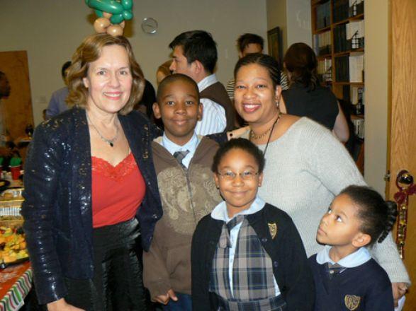 Dr. Lorraine Gudas and Victor family