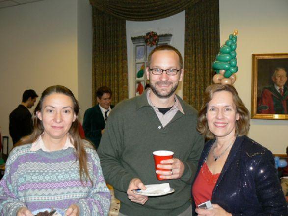 Drs. Anna Di Gregorio, David Christini and Lorraine Gudas