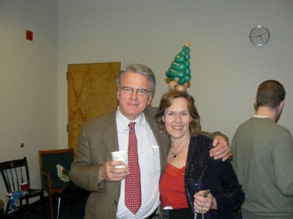 Drs. Olaf Andersen and Lorraine Gudas