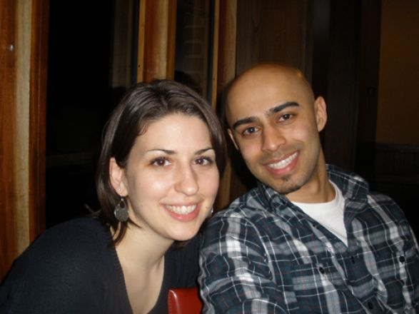 Sara DiNapoli and Suranjit Mukherjee
