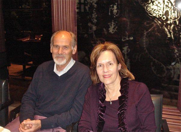 Dr. Rory Hume, Qatar Foundation; & Dr. Gudas