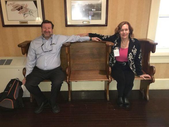 Dr. Scheinberg and Dr. Gudas