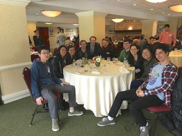 Pengju, Lauren, Jackie, Dylan, Chuck, Tyler, Trevor, Shira, Beiyu and Valeryan