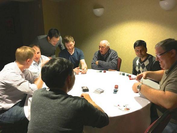 Dr. Li, Dr. Bachovchin, Dr. Kharas, Dr. Tan, Chris Evans, Dr. Inturrisi, Dr. Jaffrey, Dr. Levin