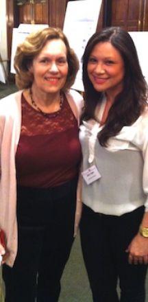 Dr. Lorraine Gudas and Aileen Ibagon