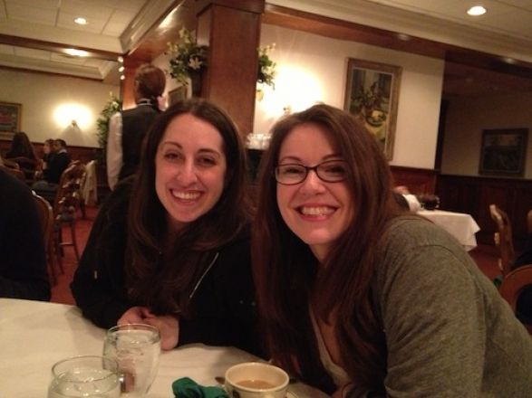 Christina Bonvicino and Kerry Purtell