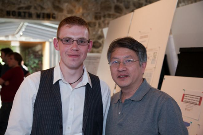 Vytautas Leoncikas and Dr. Yuliang Ma