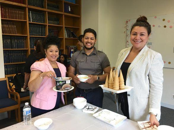 The Ice Cream Party Coordinators!