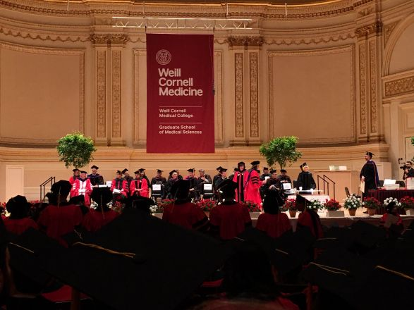 Commencement Ceremony at Carnegie Hall, May 31, 2018