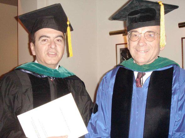 Professors in regalia.