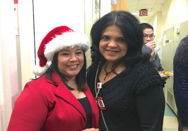 Attendees at 2017 Holiday Party.