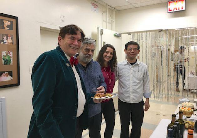 Dr. Wagner, Dr. Gross, Dr. Sindelar, Dr. Tang