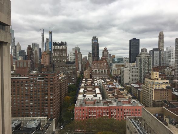 Pharmacology Faculty Meeting 10.28.19 views from the Zuckerman Bldg at MSKCC.