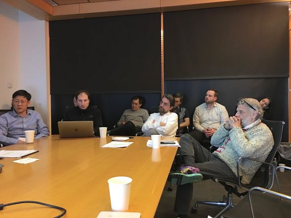 Pharmacology Faculty Meeting held on 10.28.19 at MSKCC in the Zuckerman Bldg.