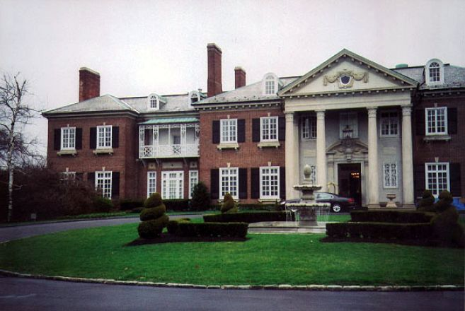 Exterior of a building.