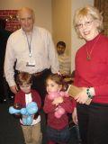 Dr. Charles Inturrisi, Barbara Inturrisi and twins