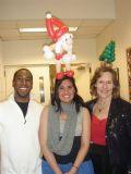 Sebastian Shaffer, Drs. Frances Gratacos and Lorraine Gudas
