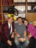 Dr. John Wagner, Ken Hess and Stephanie Cordato